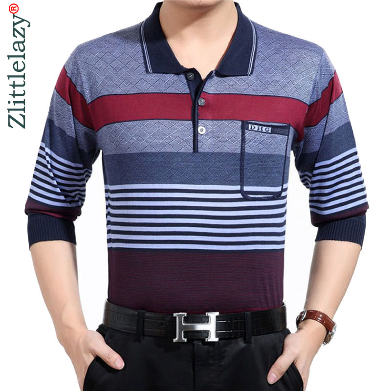 72ee0edb444d66 2018 fashion brands striped long sleeve polo shirt wear men camisa  masculina mens polos hombre blouse poloshirt clothing 8854-in Polo from  Men's Clothing on ...