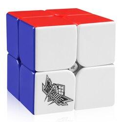 D-FantiX Cyclone Boys кубик рубика 2x2x2 Наклейки сube волшебными 2 на 2 кубиками головоломки 50 мм