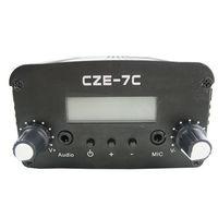 무료 배송 CZH-7C 5W FM 스테레오 PLL 방송 송신기 76-108MHZ