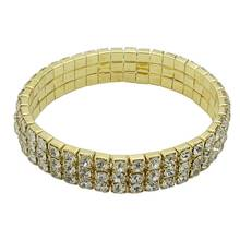 Hot For Women Lady Girl Jewelry Gift Anklet Crystal Decoration Gold Color Vervel