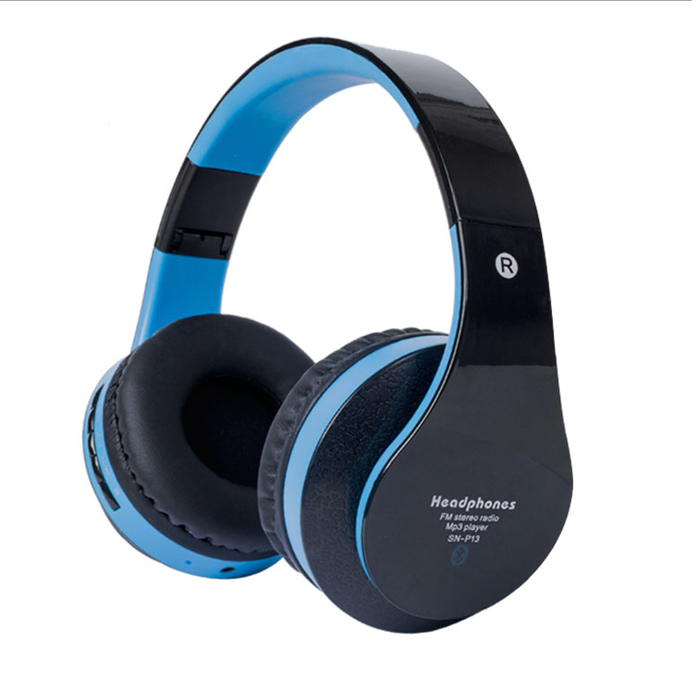 Wireless Bluetooth Headphones Portable Headset Hands free Active Noise Cancelling earphone with microphone With Mic Stereo for p