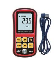 Pro Digital Ultrasonic Thickness Meter Tester Gauge Metal Testing 1 2 220mm