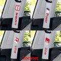 Asiento de seguridad cinturón de patrón de bordado de algodón fit para Toyota vw seat audi nissan lada saab BMW Mitsubishi car styling 2 unids/set