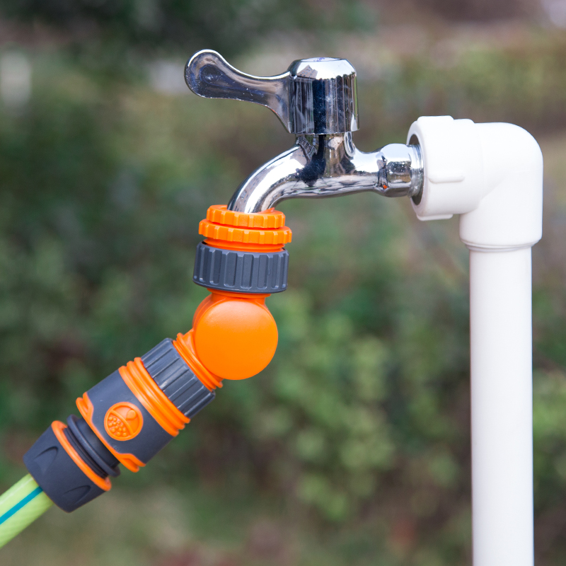 Gardening-Tools Irrigation Water-Tap Agriculture Quick-Water-Connector Splitter Rotatable