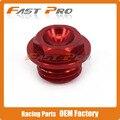 CNC Billet Oil Filler Plug For CR125R 250R CRF150R CRF250R CRF450R CRF450X CRM250R/AR CRF250L/M  Dirt Bike Motocross Off Road