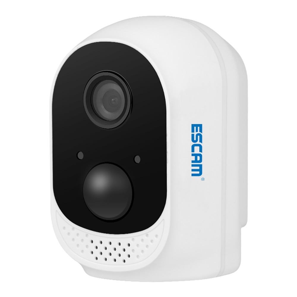 Caméra de batterie sans fil ESCAM QF230 WiFi 2MP 1080 P HD IR Vision nocturne PIR détection de mouvement caméra de vidéosurveillance IP pour la sécurité à domicile