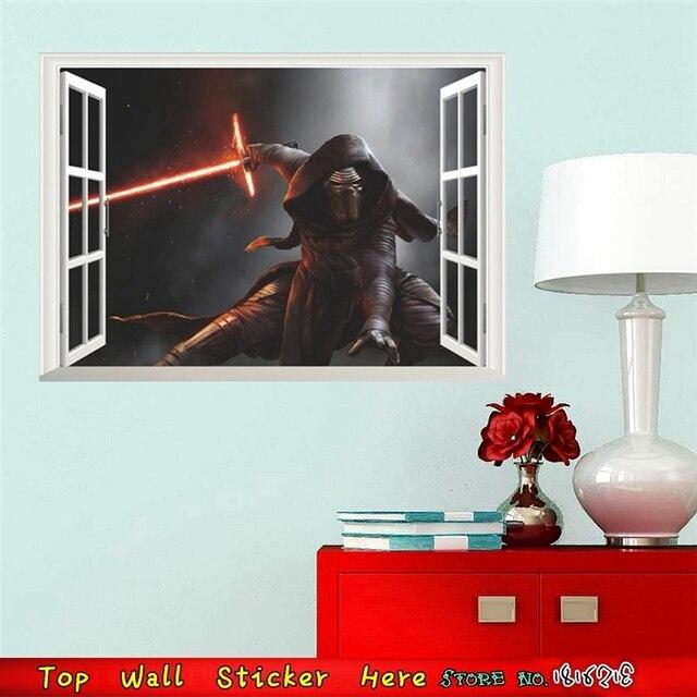 Krieg Der Sterne Wandaufkleber Weckt Sith Herr Darth Vader Film Poster Für  Kinder Zimmer Dekor 3d