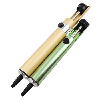 Pro #8217 sKit silne ssanie urządzenie cyny 908-366A antystatyczna pompa lutownicza Sucker pochłaniają pistolet lutownica 8PK-366D pompa rozlutownicy tanie i dobre opinie Pro'skit CN (pochodzenie) 908-366A 8PK-366D
