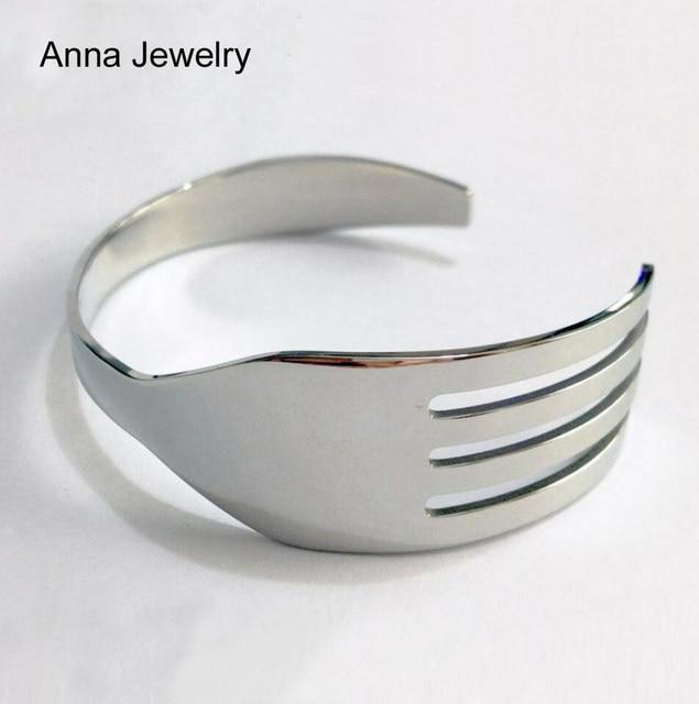 Fork Shape Cuff Bracelet  2