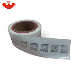 Image 3 - Etiqueta RFID adhesiva UHF Alien 9629 incrustación húmeda 915mhz 900 868mhz 860 960MHZ Higgs3 EPCC1G2 6C etiqueta adhesiva inteligente RFID pasiva