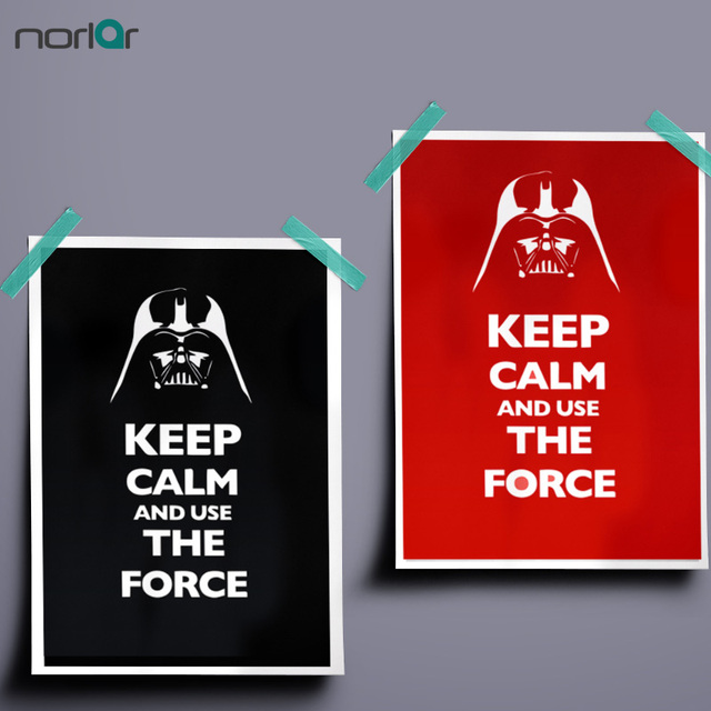inspirational design star wars wall. Minimalist Art Print Canvas Painting Poster STAR Wars Inspirational Quotes  KEEP CALM AND SUE THE FORCE