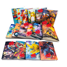 240 Pcs Album Toys Holder New Gift Pokemon Pikachu Card Collection Album Book Book Top Loaded List Playing Cards Pokemon Cards цены