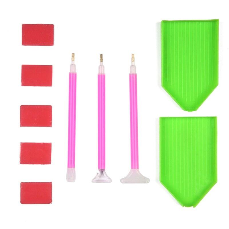 Herramientas de pintura diamante hecho a mano Set 5D pintura diamante - Artes, artesanía y costura