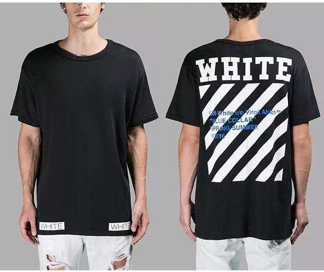 2016 novo suprem meninos Camisa listrada T Mens Womens Impertinente novidade topos de Hip Hop Thrasher T Shirt Tops de verão Palácio Moda tees