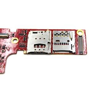 Image 3 - Оригинальный новый держатель для Sim карты устройство для чтения слотов гибкий кабель для Lenovo PAD B6000 B8000 устройство для чтения SIM карт держатель разъем гибкий кабель