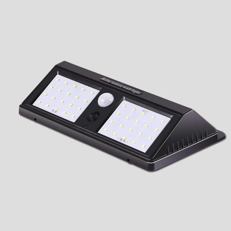 Светодиодный солнечный свет сада 40 светодиодный s движения PIR датчик солнечной лампы Открытый Водонепроницаемый энергосберегающие уличные Двор Путь Главная Безопасность лампы