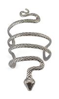 Vintage Style Silver Snake Shape Open   Bangle   Cuff   Bracelets     Bangles   Armlet Men Women Birthday Gift Gypsy Turkish India Jewelry