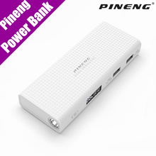 Original Pineng Power Bank 10000mAh External Battery PN-953 Mobile Charger Dual USB LED Screen for iPhone Samsung Xiaomi LG