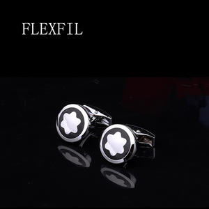 FLEXFIL Luxury shirt cufflinks for men's cuff links wedding