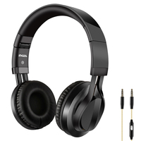 UIN86 Headphone Bass Stereo MP3 Play Headset 3 5mm Wired Headphones With Microphone For Iphone 6S
