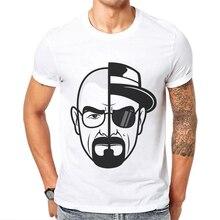 MenT Shirt 2019 Summer Cotton Short Sleeve O-Neck Tops Breaking Bad Tshirts Original Print Mens Tees Camisetas Hombre Verano