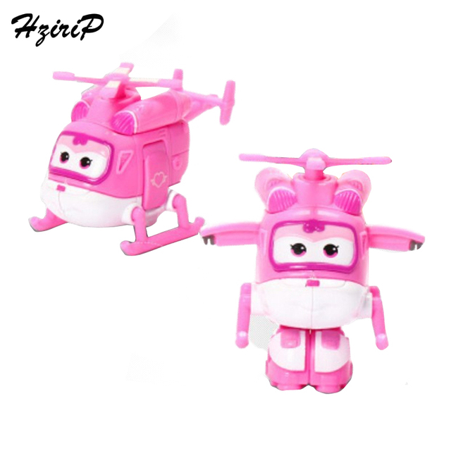 New 15CM Big Size Deformation Super Wings Robot Airplane ABS Model Toys Action Figures Superwings Transformation Kids Toys Gift