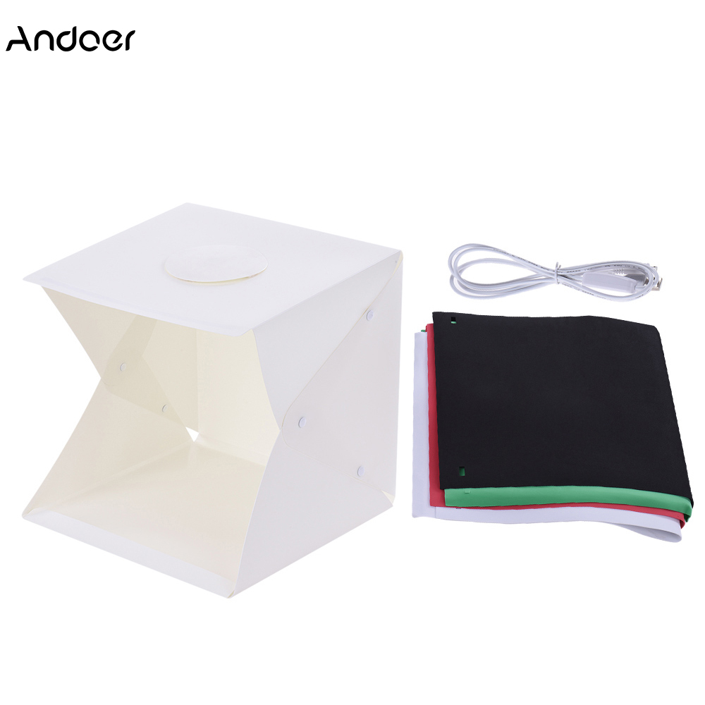 Foldable Photography Lightbox Studio Soft Box Light Tent Cube 4 Backdrops for Canon Nikon Sony Digital DSLR Camera Phone 3 Sizes-in Photo Studio Accessories ...  sc 1 st  AliExpress.com & Foldable Photography Lightbox Studio Soft Box Light Tent Cube 4 ...