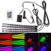 LED Strip Light RGB For Car 7 Colors Car Styling Atmosphere Lamps Car Interior Light With