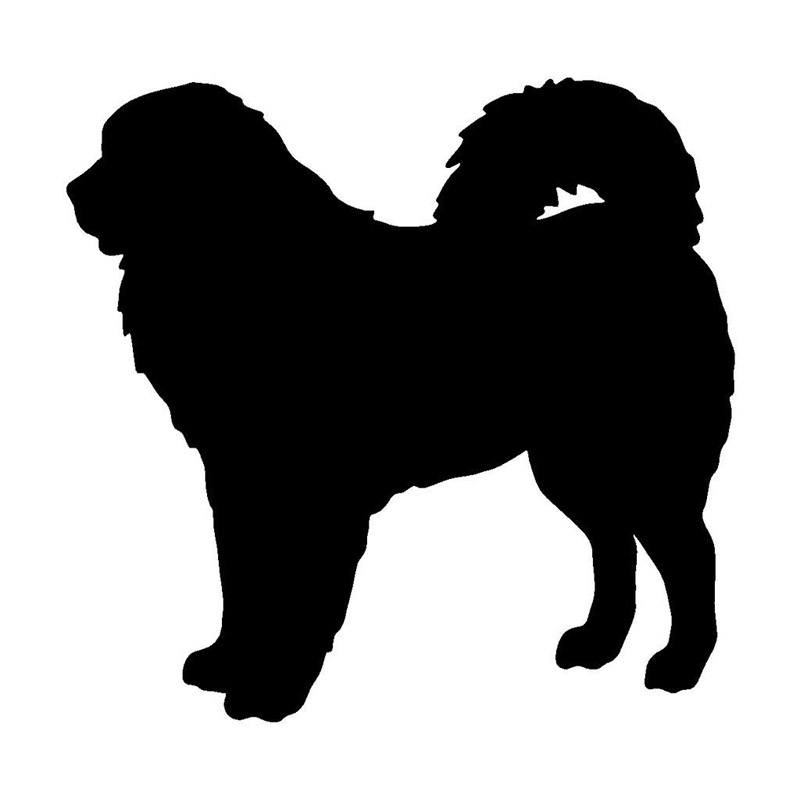 13 212 7cm Tibetan Mastiff Dog Motorcycle Stickers Personalized