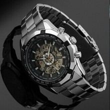 Luxury Automatic  Mechanical stainless steel Military Watch