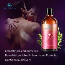 100ML Aphrodisiac Pheromone Sex Exciter Massage Oil Female Libido Enhancer Natural for Aromatherapy Orgasm Liquid Man and Woman