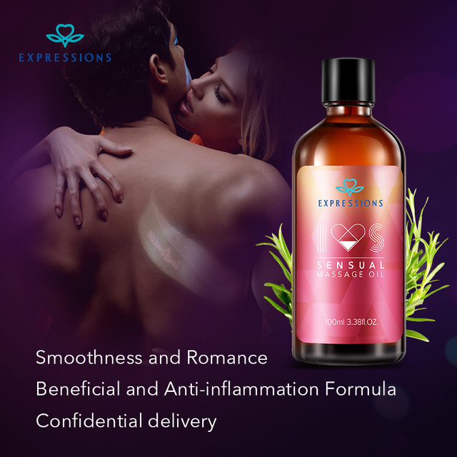 100ML Aphrodisiac Pheromone Sex Exciter Massage Oil Female Libido Enhancer Natural for Aromatherapy Orgasm Liquid Man and Woman