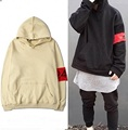 2016 Autumn New Clothing Hoodie Oversized Sweatshirts Cotton 424 Hooded Hoodies Men/Women Hip Hop Kanye West Sweatshirts