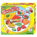 Kids Playdough Healthy Sandwich Hot Sale blocks Soft For Fimo Effect Polymer Modeling Clay Colorful Blocks Plasticine For Kids