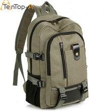 TenTop-Eine Neue Mode arcuate schultergurt reißverschluss feste beiläufige tasche männer rucksack schultasche tasche designer rucksäcke Unisex