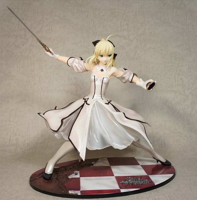 23cm <font><b>Sexy</b></font> Fate/stay Night Action <font><b>Figures</b></font> PVC brinquedos Collection <font><b>Figures</b></font> toys for christmas gift free shipping image