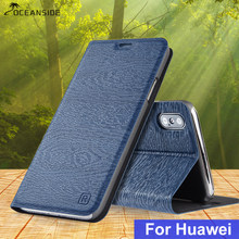 For Huawei P9 P10 Plus P20 Lite Pro PU leather case for Huawei Nova 2 Plus 2s 3 3i flip cover luxury card slot stand case(China)