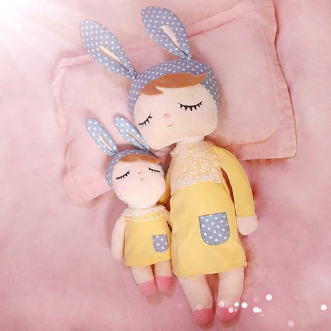 Cute Metoo Angela Rabbit Dolls Cartoon Animal Design Stuffed Babies Plush Doll for Kids Birthday Christmas Gift Children Toy Karachi