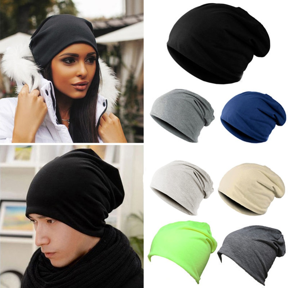New Women Men Winter Warm Knit Crochet Slouch Hats Unisex Hip-Hop Beanie Cap Hat winter warm unisex women men knit crochet slouch hat cap beanie hip hop hats