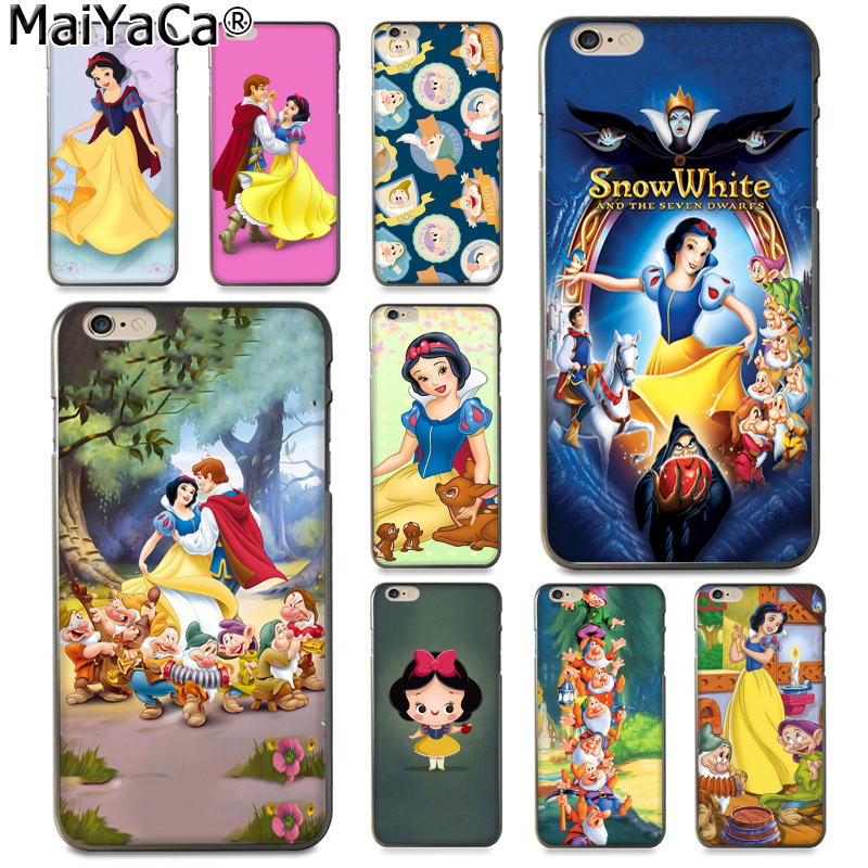 snow White and the dwarfs iphone case