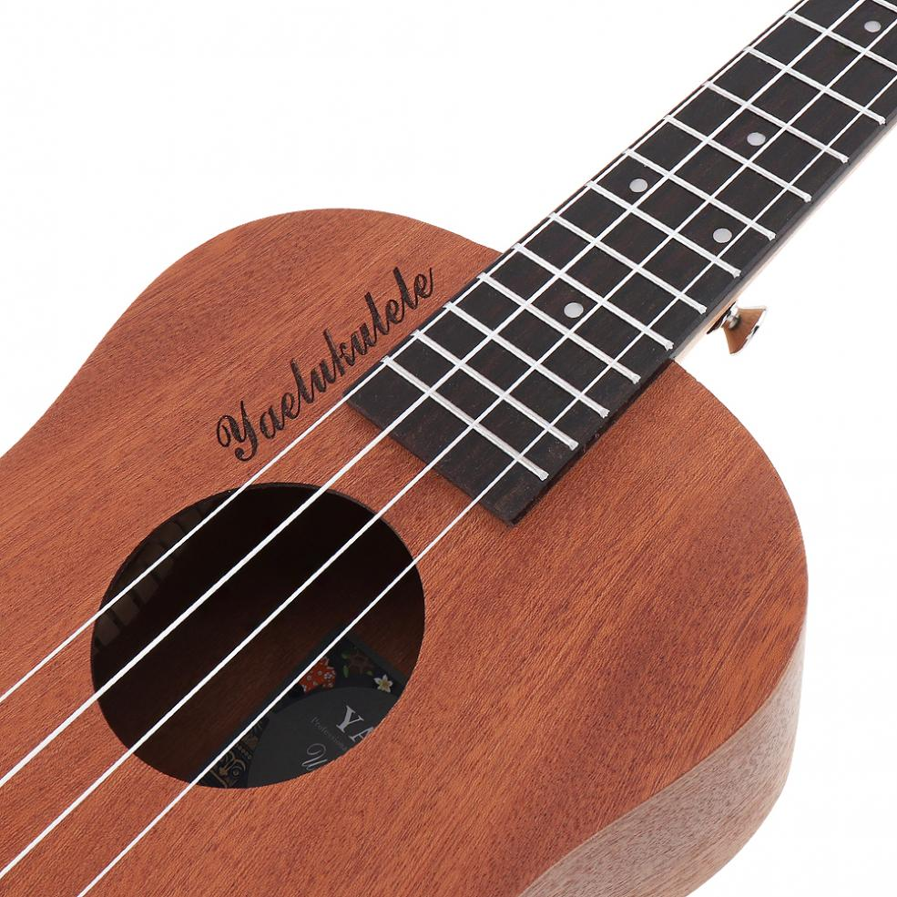 26 inch 18 Frets Sapele Wood Tenor Ukulele Guitar Rosewood 4 Strings Hawaiian Guitar Musical Instruments For Beginners in Ukulele from Sports Entertainment