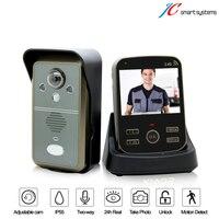 3 5 Inch TFT Wireless Door Phone Video Doorbell Intercom Home Security IR Camera Motion Detection