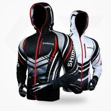 2018 Новая летняя рыболовная одежда с капюшоном мужская куртка водостойкое быстросохнущее пальто рыболовная рубашка для пеших прогулок велосипедная рыболовная одежда