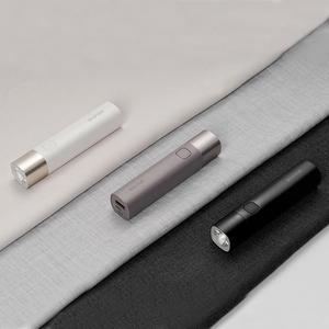 Image 2 - Yeni Youpin solo X3 USB şarj edilebilir parlaklık EDC el feneri 3000mAh güç banka taşınabilir Mini LED el feneri bisiklet
