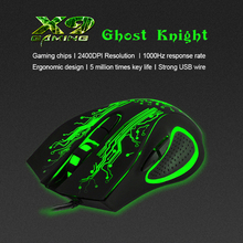 цена на iMICE  Gaming Mouse 5600 DPI USB Wired Optical LED Breathing light Computer Mice Mause for Laptop PC Gamer Upgraded version Gree