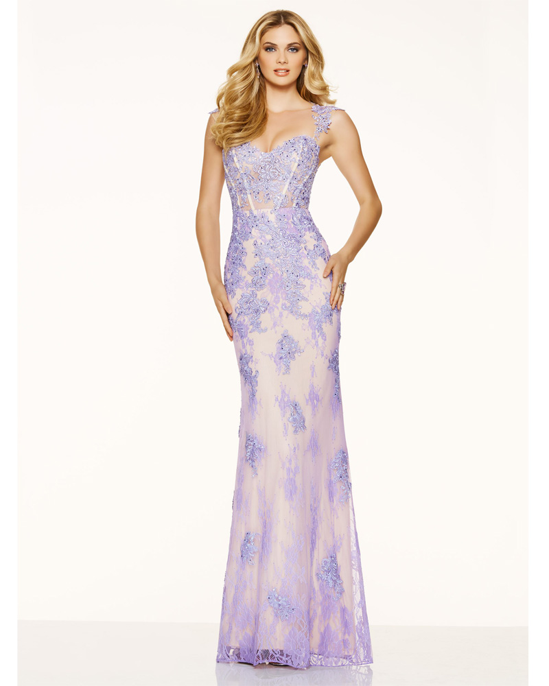 lavender evening dresses