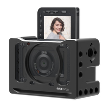 Get more info on the UURig R-RX0 II Camera Vlog Metal Cage Case for Sony RX0 II ARRI Cold Shoe 1/4 3/8 Screw for Microphone LED Light VS Smallrig