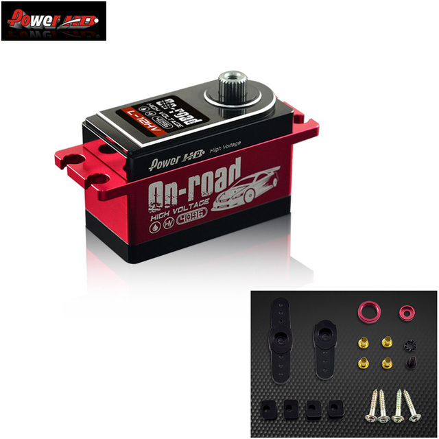 Power HD L 12HV 12KG High Voltage Servo For 1:10 Buggy Drift RC Car On Road Accessories Toys