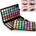 120 Colors Eyeshadow Makeup Eyeshadow Palette Comestic Tender 3 Layer Make Up Eye Shadow Full Size Luminous Set Kit