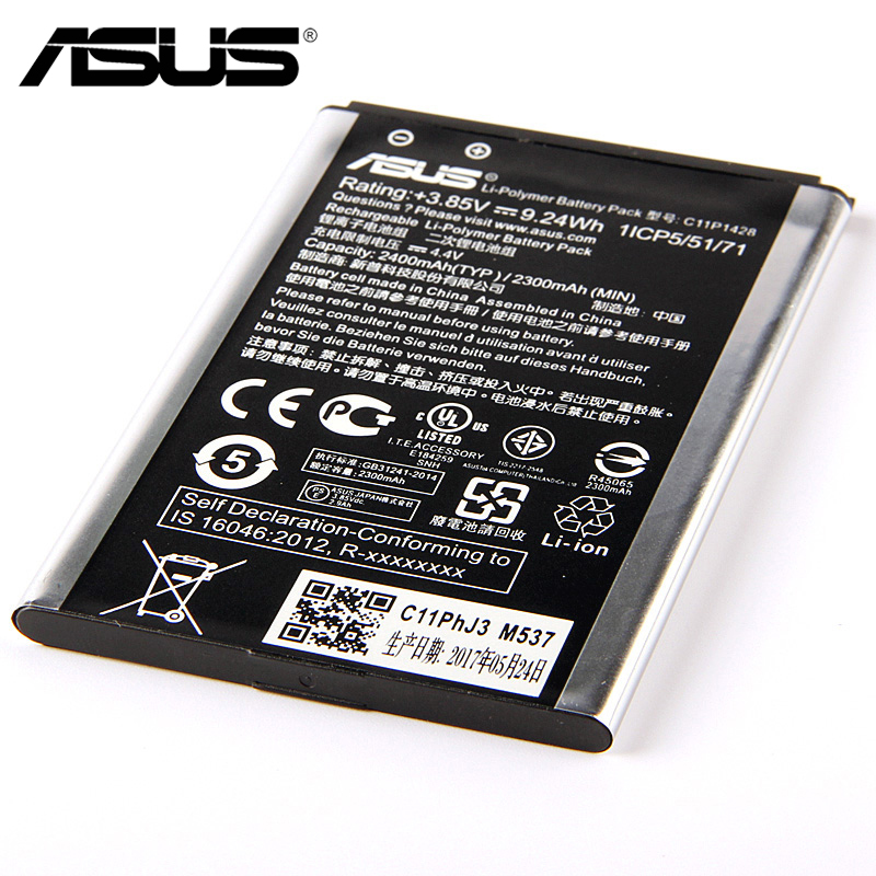 Original <font><b>ASUS</b></font> <font><b>ZE500KL</b></font> Phone <font><b>Battery</b></font> <font><b>For</b></font> <font><b>ASUS</b></font> <font><b>ZenFone</b></font> <font><b>2</b></font> <font><b>Laser</b></font> 5